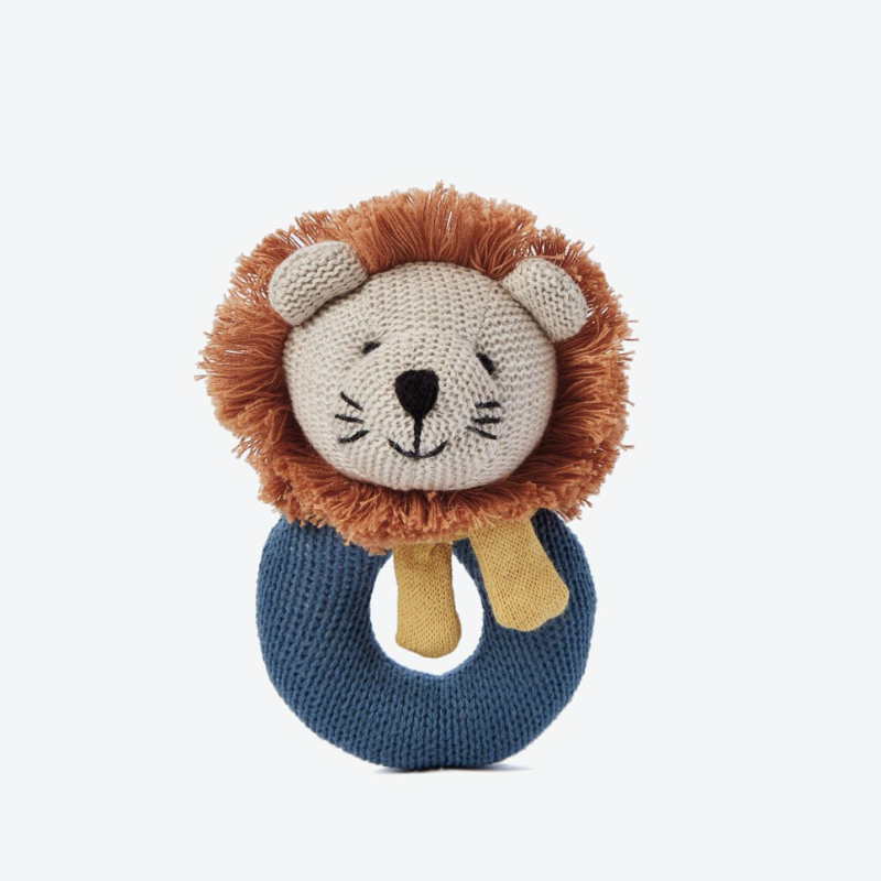 Lion Baby Ring Rattle | Avenue Petit Lou