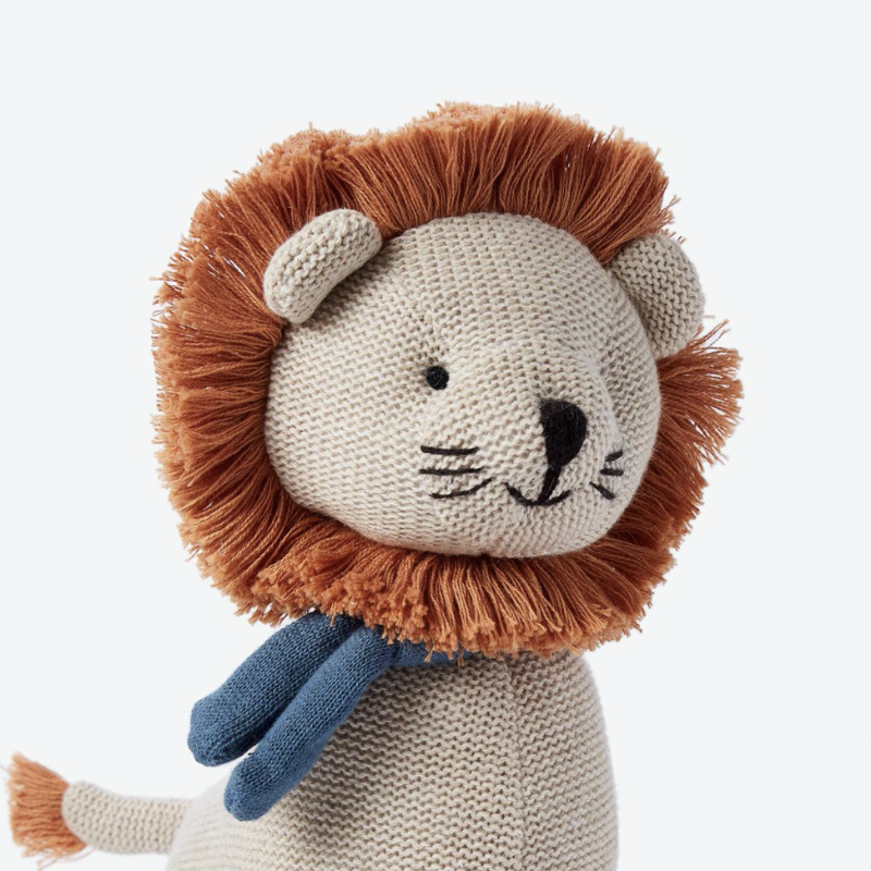 Leo Lion Knit Doll | Avenue Petit Lou