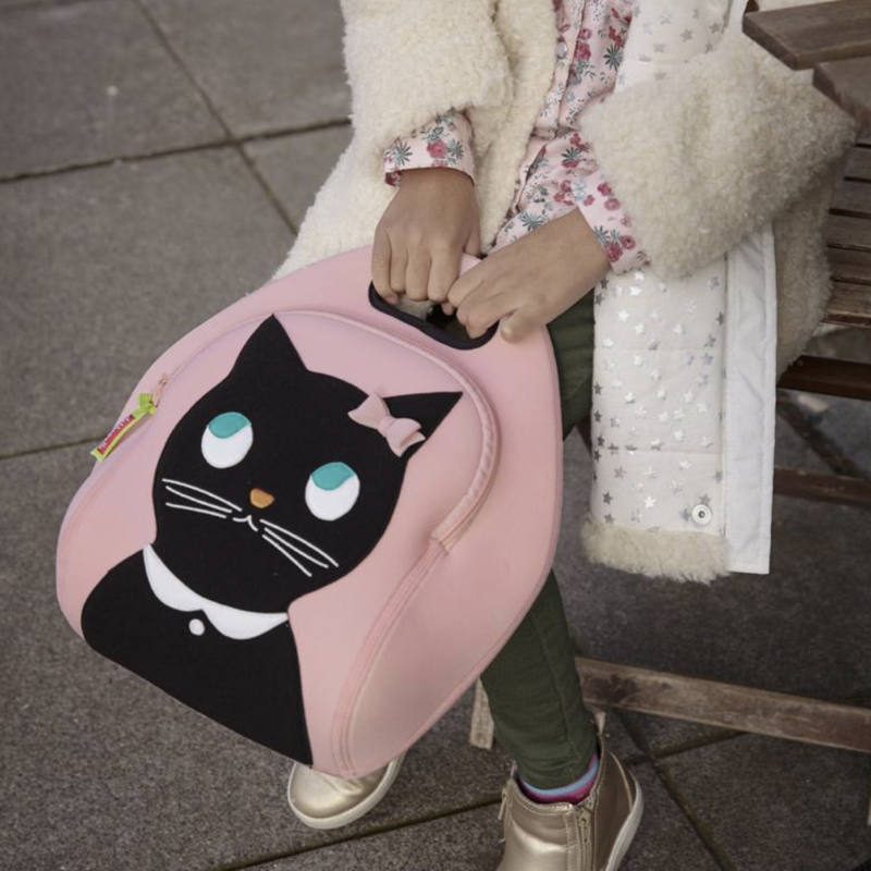 Miss Kitty Lunch Bag | Avenue Petit Lou