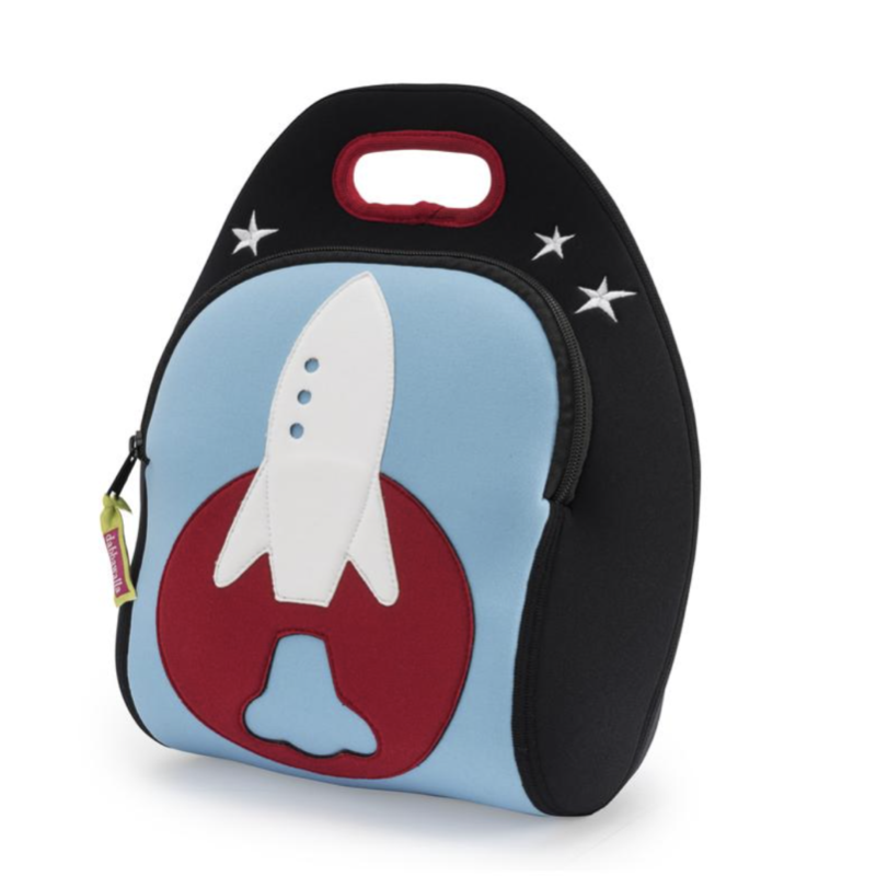Space Rocket Lunch Bag | Avenue Petit Lou