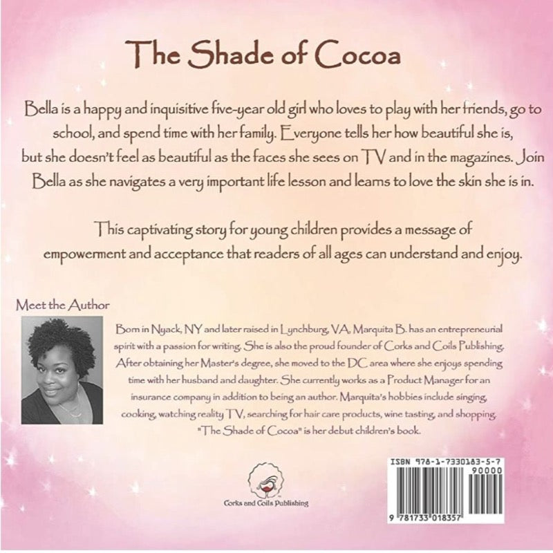 Book - ENGLISH - The Shade of Cocoa | Avenue Petit Lou
