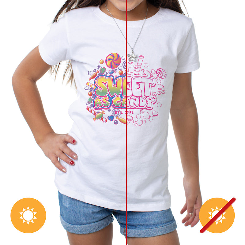 Kid's Crew Tee - Sweet as Candy | Avenue Petit Lou