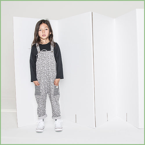 Organic Cotton Overall - Easy fit - Doodle Art | Avenue Petit Lou