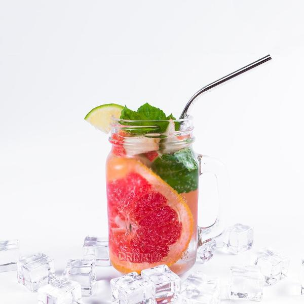 Regular Reusable Bendy Stainless Steel Straws - Avenue Petit Lou