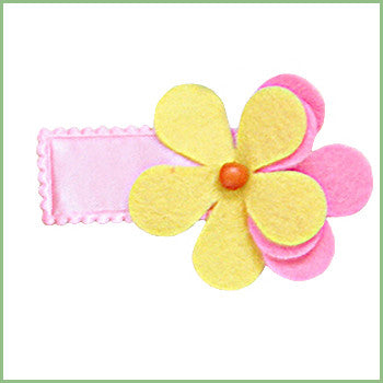 Double Daisy Hair Clips | Avenue Petit Lou