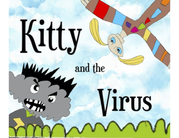 Book - ENGLISH - Kitty and the Virus | Avenue Petit Lou