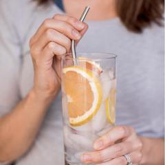 NEW! Strong Reusable Bendy Stainless Steel Straws!