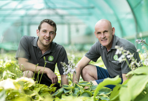 Ollie Walker and Chris Potts Sienna Hosta