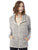 Ladies Eco Jersey Cool Down Hooded Full-Zip
