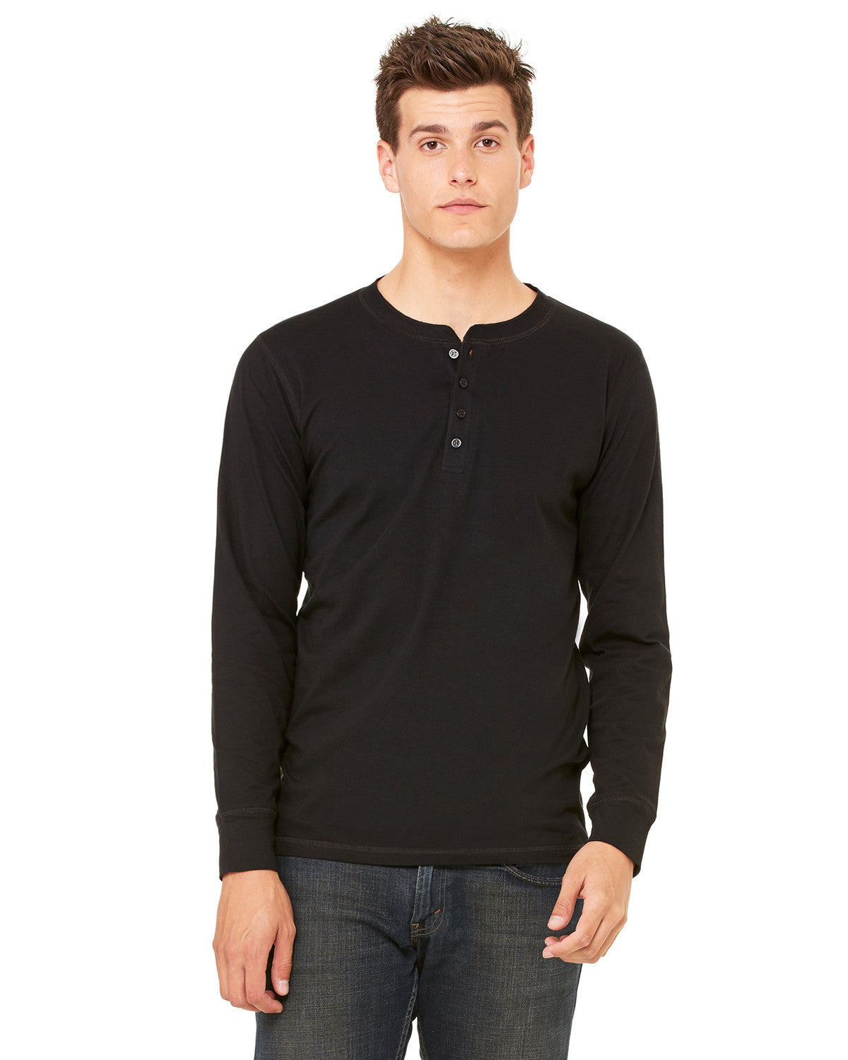 Long Sleeve Jersey Henley