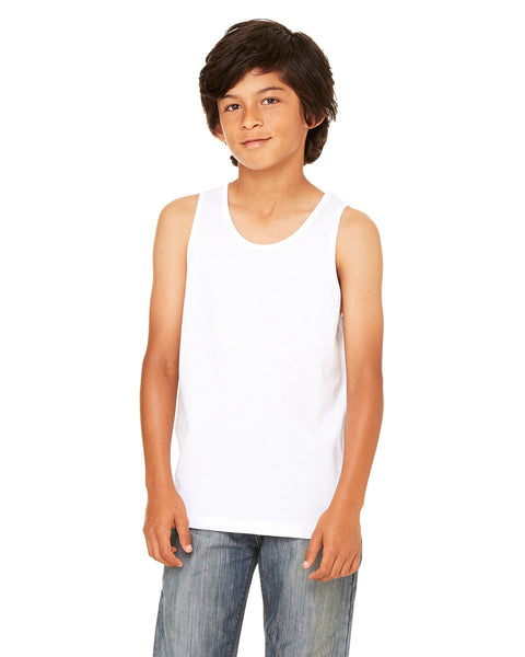 Bella Canvas Youth Jersey Tank