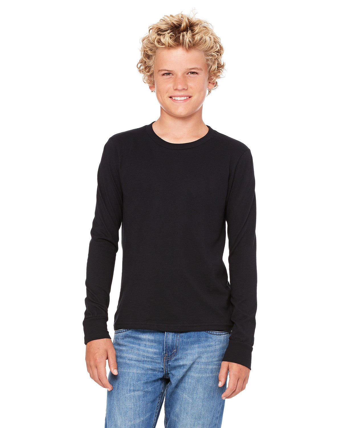 Bella Canvas Youth Jersey Long Sleeve Tee