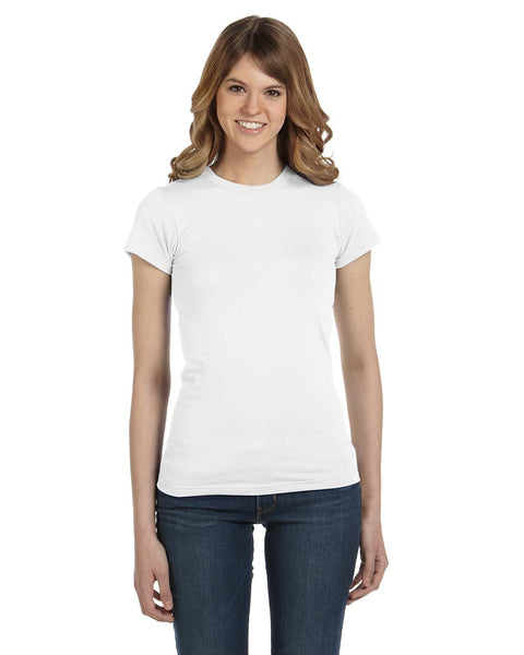 Ladies Lightweight Ringspun Fitted T-shirt