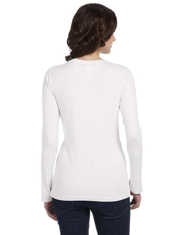Ladies Lightweight Ringspun Long Sleeve T-shirt