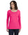 Anvil Ladies Featherweight Long Sleeve Scoop T-shirt