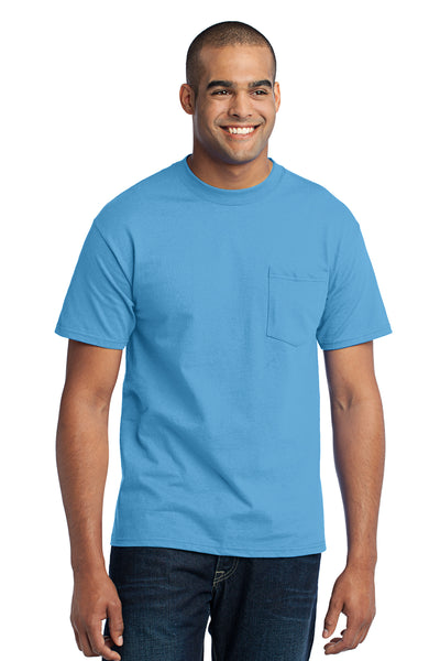 Port & Company Core Blend Pocket Tee