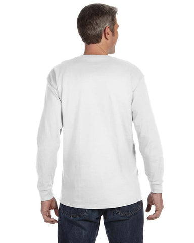Hanes Long Sleeve Tagless T-shirt