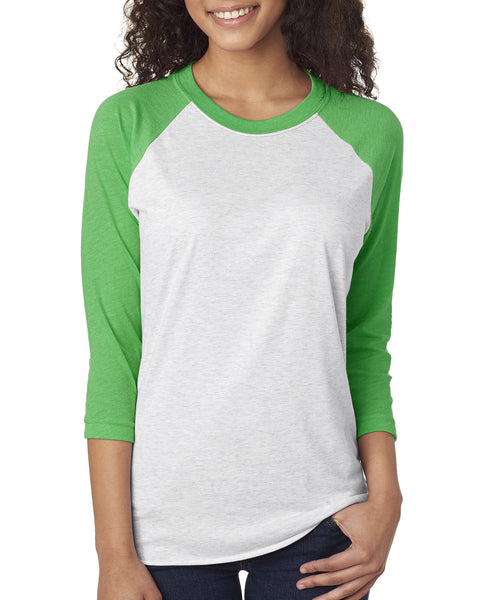 Next Level Triblend Baseball Raglan