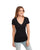 Next Level Ladies CVC Deep V-Neck T-Shirt