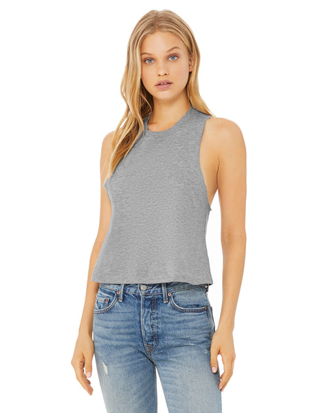 Bella Canvas Ladies Racerback Cropped Tank