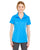 UltraClub Ladies Cool & Dry Jacquard Stripe Polo