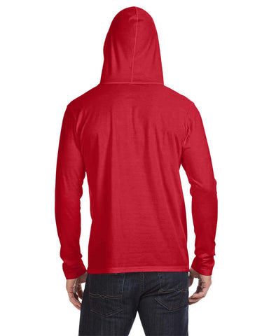 Anvil Lightweight Long Sleeve Hooded T-Shirt