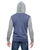 Rocky Unisex Colorblocked Eco-Fleece Hooded Full-Zip