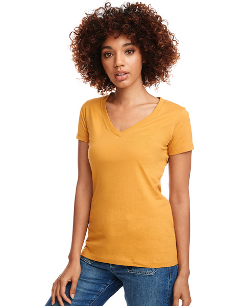 Next Level Ladies Ideal V-Neck T-Shirt