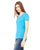 Ladies Deep V-Neck Jersey Tee