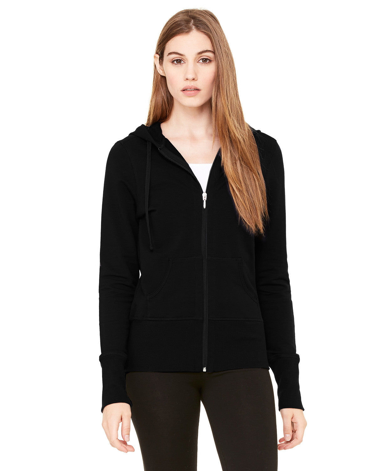 Ladies French Terry Stretch Lounge Jacket