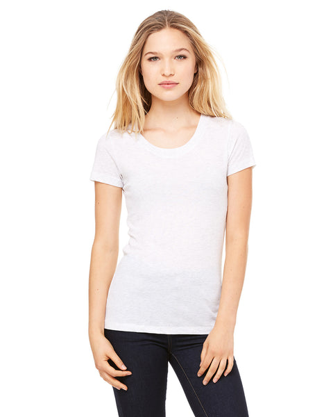Bella and Canvas Ladies Triblend Short Sleeve T-shirt