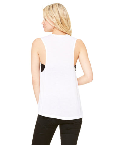 Bella Canvas Ladies Flowy Scoop Muscle Tank