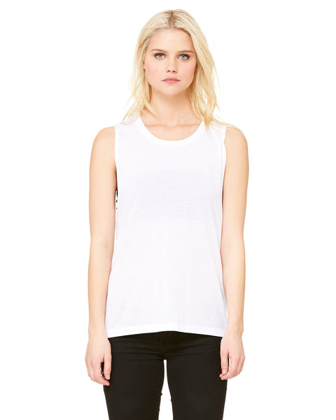 Juniors Flowy Muscle Tank