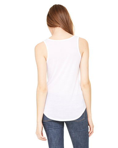 Bella Ladies Flowy V-neck Tank