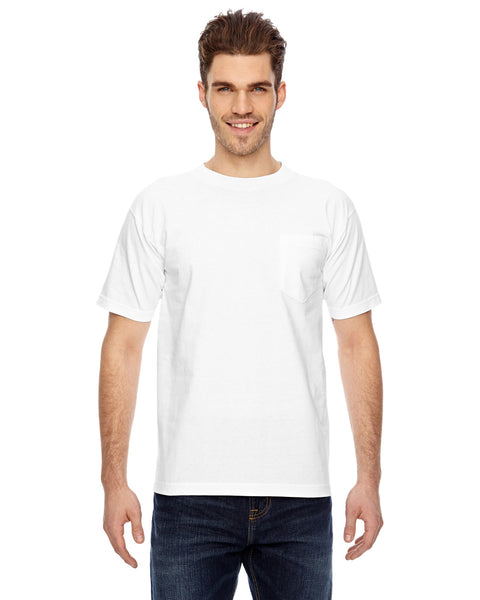 USA Made Short Sleeve T-shirt With Pocket