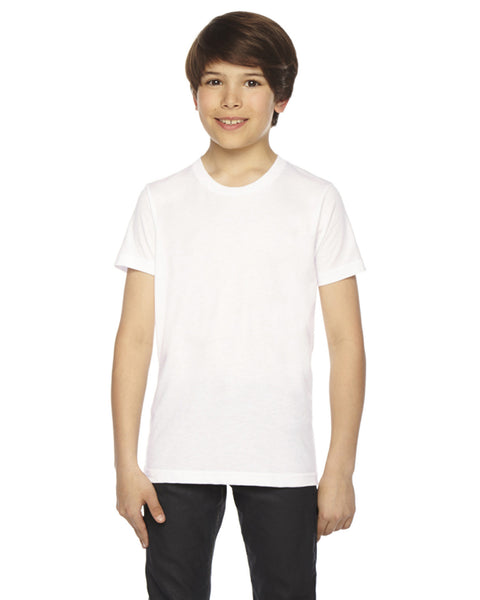 American Apparel Youth 50/50 Poly-cotton Short Sleeve Tee