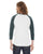 American Apparel Unisex Poly-Cotton Baseball Raglan Tee