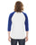 American Apparel 50/50 Short Sleeve Baseball Raglan