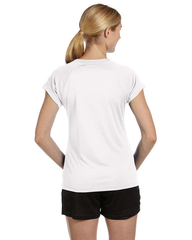 Champion Ladies Double Dry V-neck Performance T-shirt