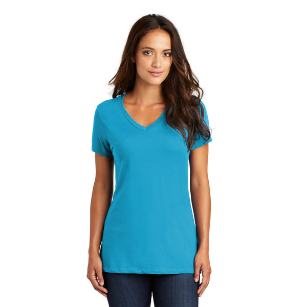 District Women's Perfect Weight V-Neck Tee