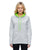 J America Ladies Cosmic Contrast Fleece Hoodie