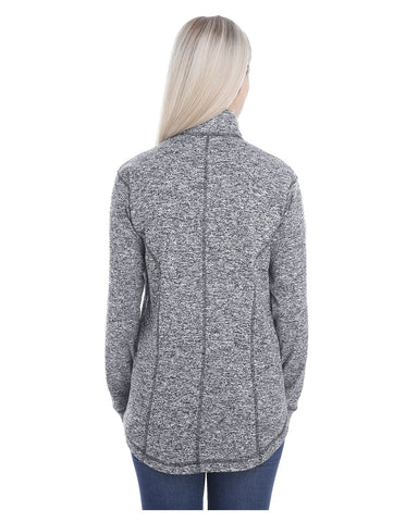 Ladies Cosmic Fleece Quarter-Zip Pullover