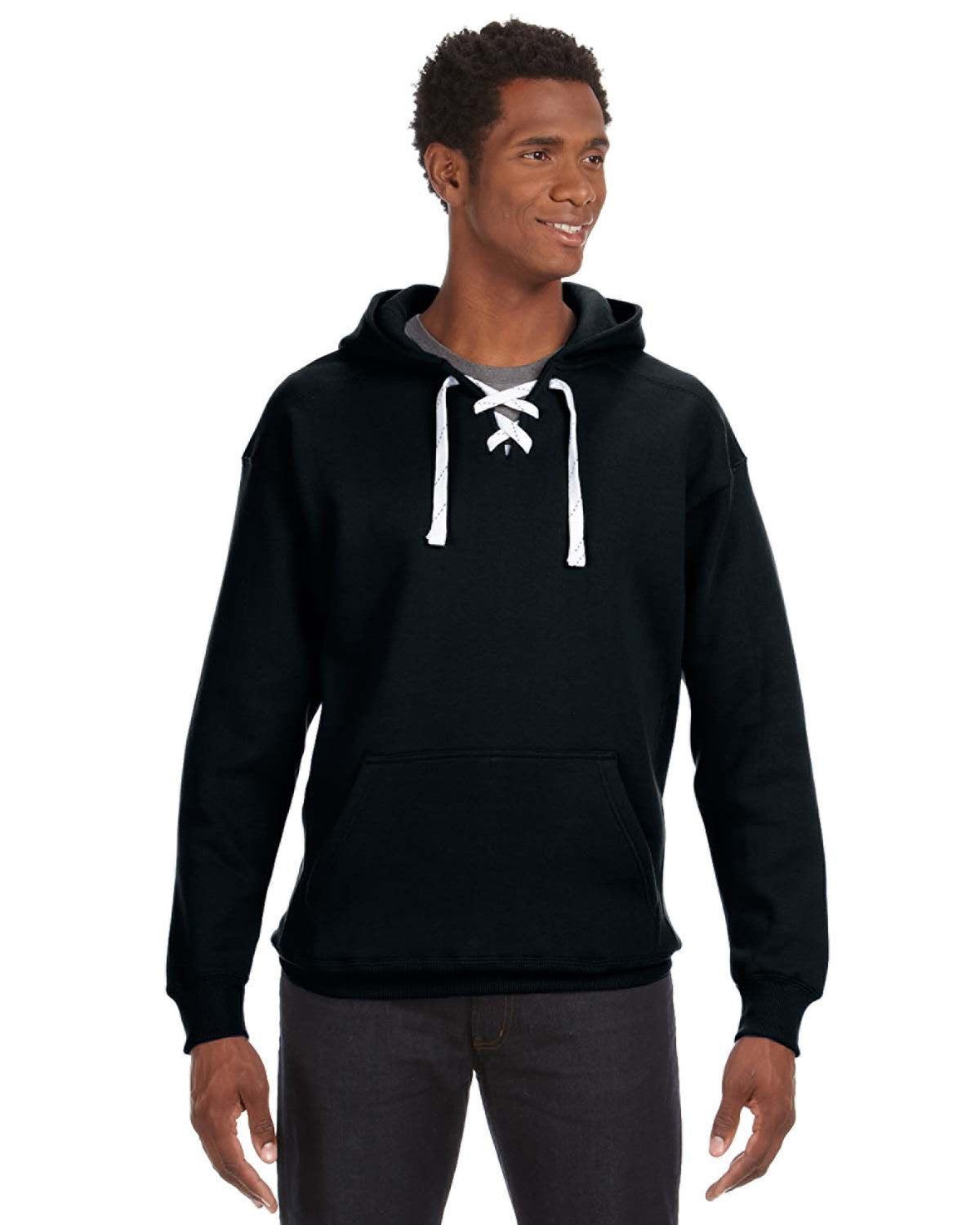 Sport Lace Hooded Sweatshirt