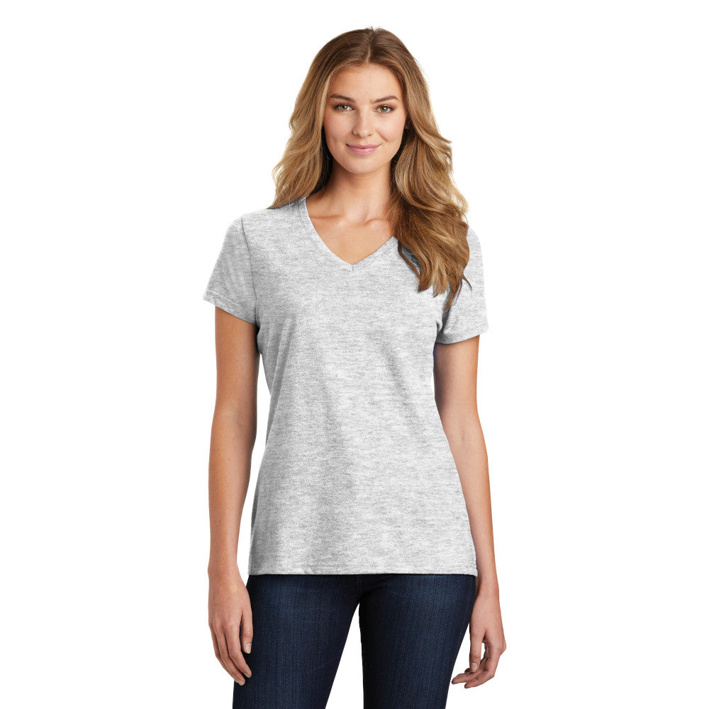 Port & Company Ladies Fan Favorite Blend V-Neck Tee
