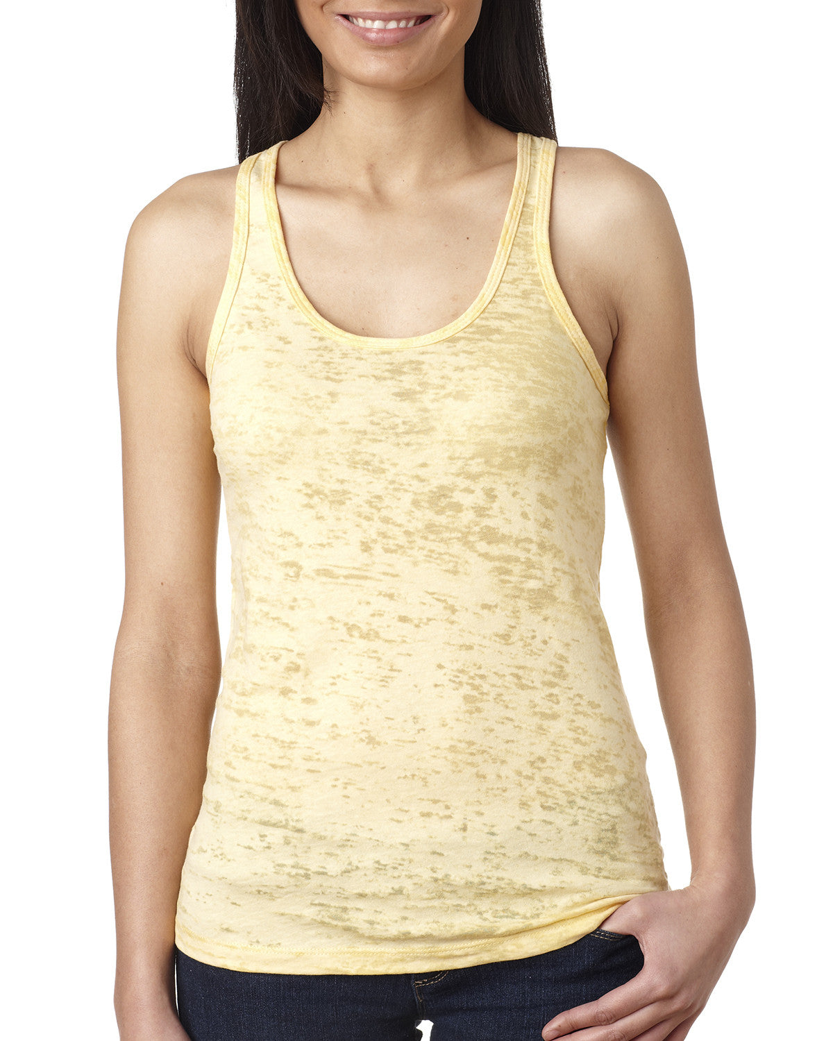 Next Level Ladies Burnout Racerback Tank