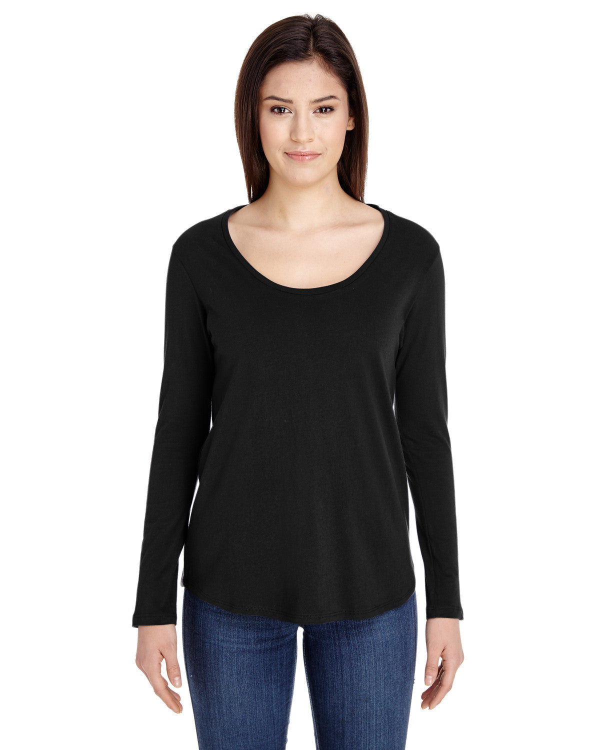 American Apparel Ultra Wash Long Sleeve T-shirt