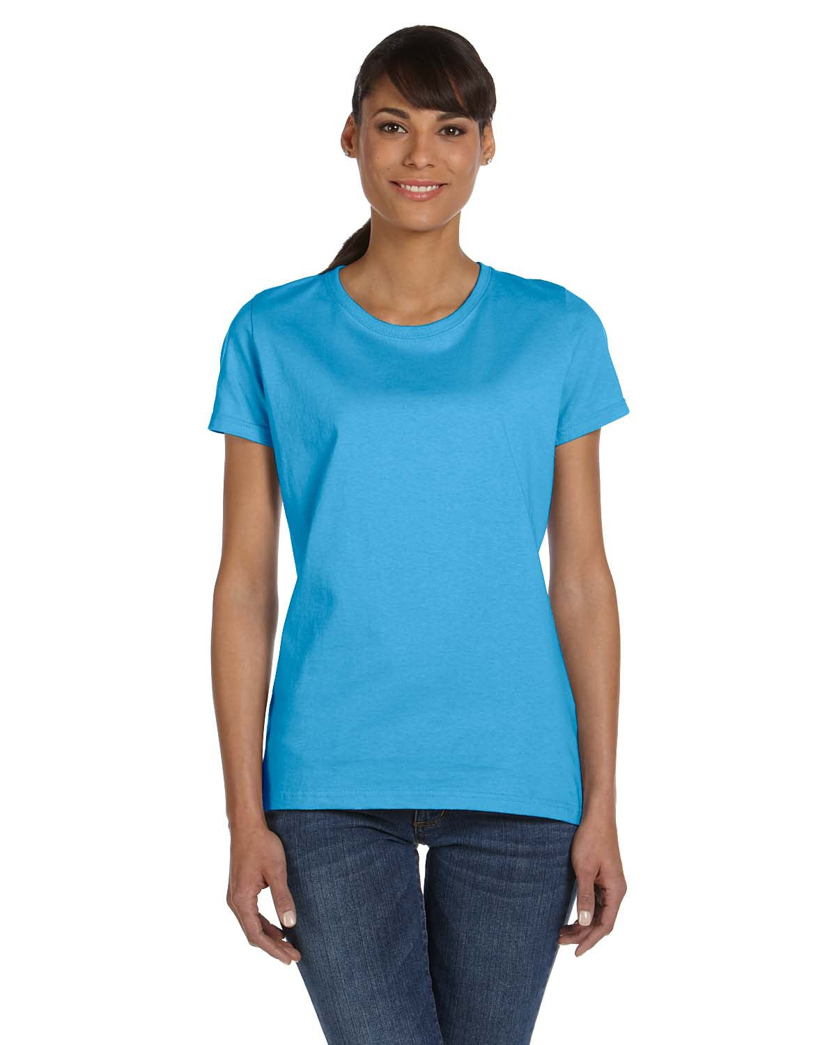 Fruit of the Loom Ladies HD Cotton T-Shirt