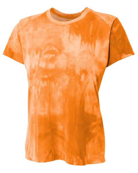 A4 Ladies Cloud Dye Tech T-Shirt