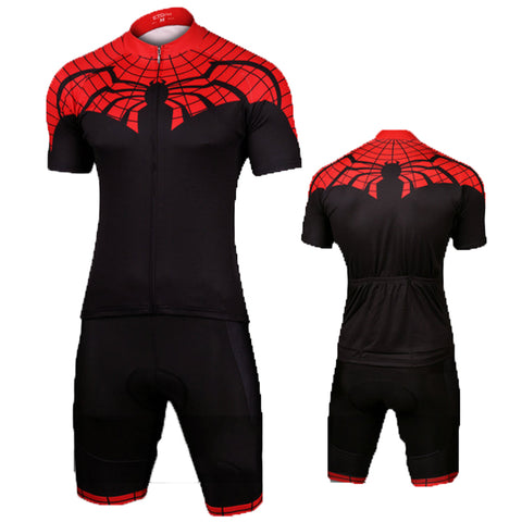 Superior Spider-Man Set Bicycle Jersey The Flash Cycling Jersey+Short M-XL
