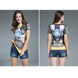 Women OverWatch Compression T-shirt